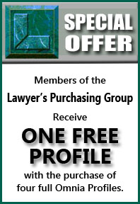 Lawyers Protection Group offer from Omnia