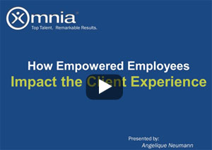 How empowered employees impact the client experience