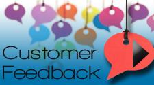 Customer feedback and testimonials on the Omnia Group