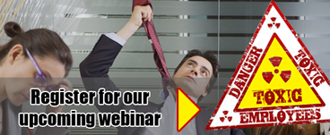 Toxic employees free webinar