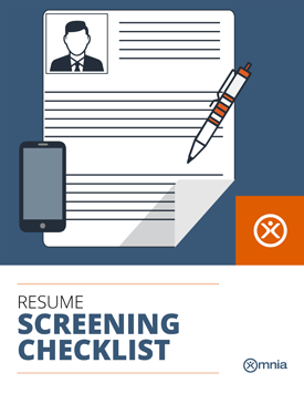 omnia resource resume screening