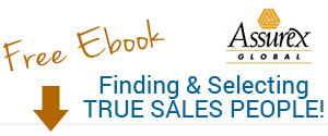 How to find and select true sales people