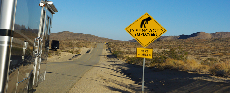 Disengaged employees at dealerships
