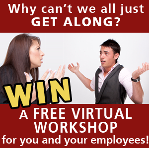 Win a free conflict resolution workshop for your employees